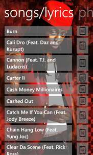 Lil Wayne Musics screenshot 3