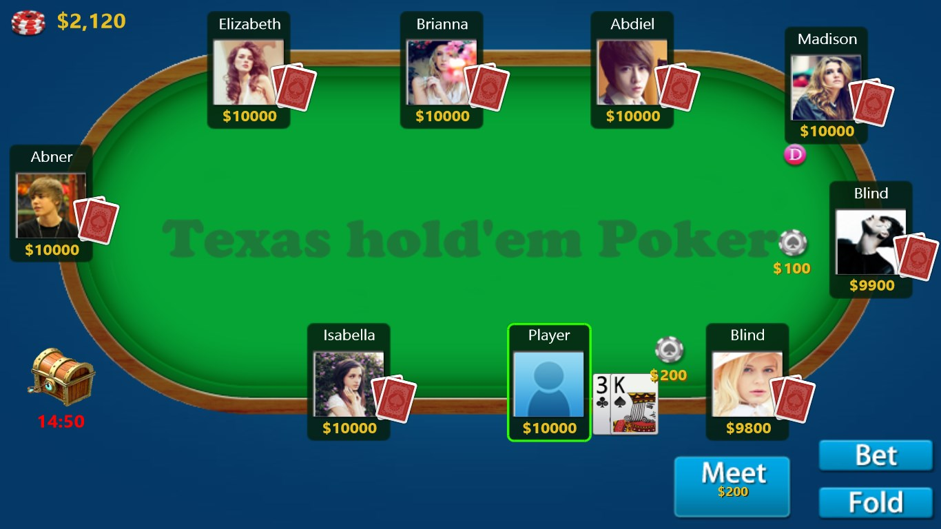 Texas holdem poker quito