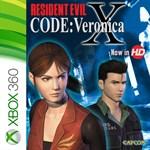RESIDENT EVIL CODE: Veronica X Logo