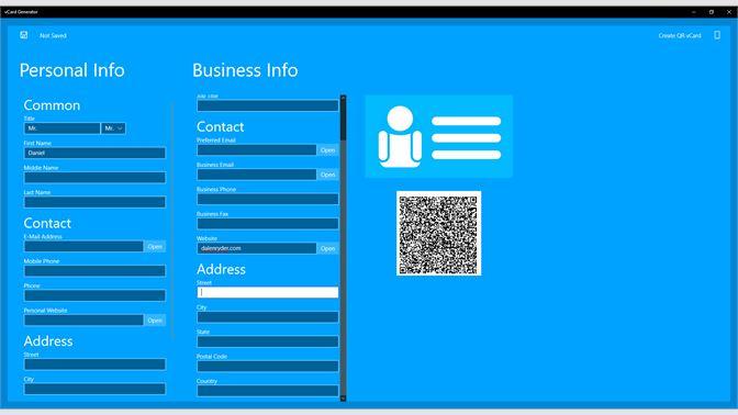 Get vCard generator - Microsoft Store