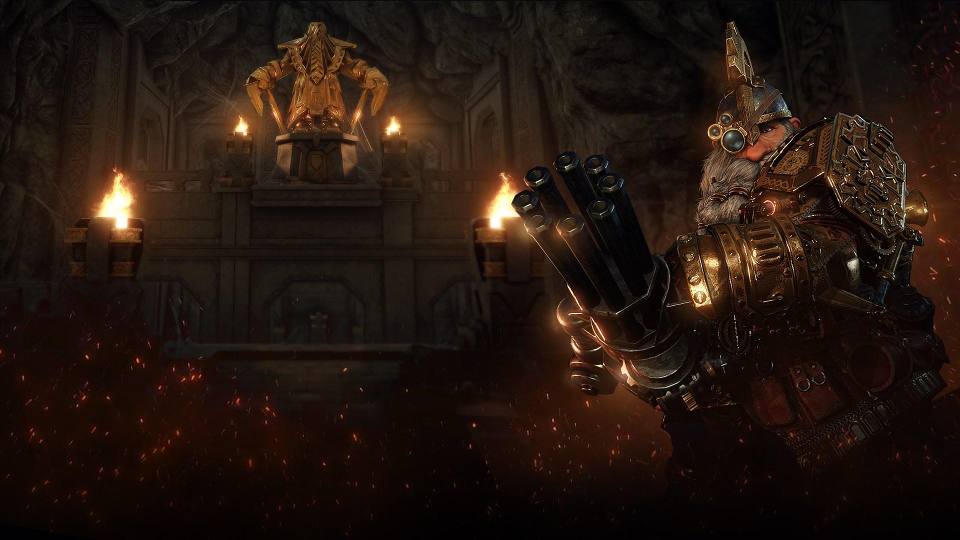 Warhammer: Vermintide 2 - Outcast Engineer