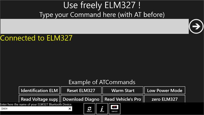 Get Use freely ELM327 ! - Microsoft Store
