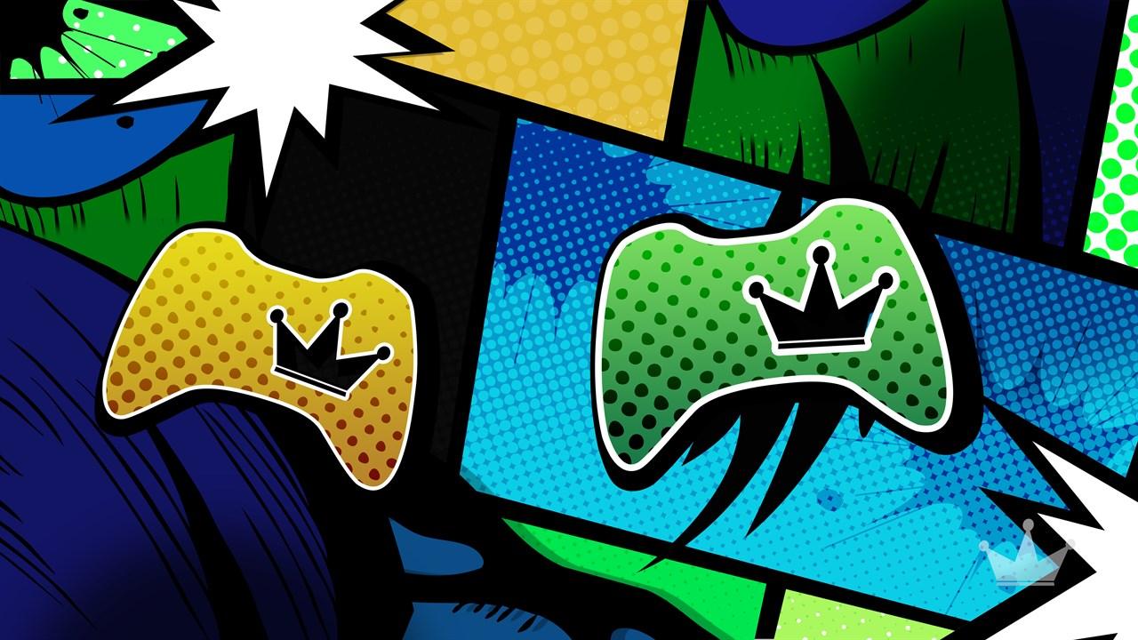 Buy Comic Crowns 4k Live Wallpaper By Konsole Kingz Microsoft Store