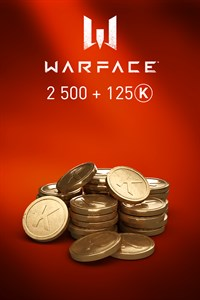 Warface - 2500 Kredits