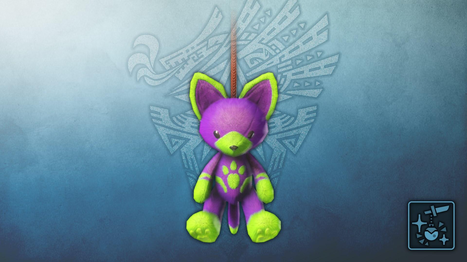 Anhänger: Felynen-Teddy (lila)