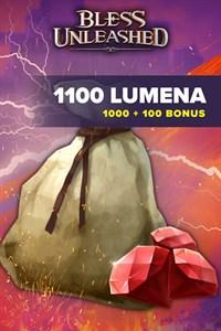 Bless Unleashed: 1.000 Lumenas + 10% (100) de bônus