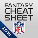 NFL Fantasy Football Cheat Sheet & Draft Kit 2014