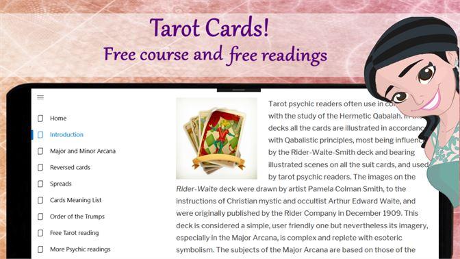 Get Tarot card reading! Online tarot plus psychic read - Microsoft Store