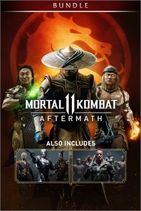 Carátula del juego Mortal Kombat 11: Aftermath + Kombat Pack Bundle