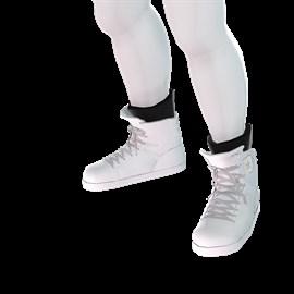 Konsole Kingz - Icey White KTR1s - High Top Shoe
