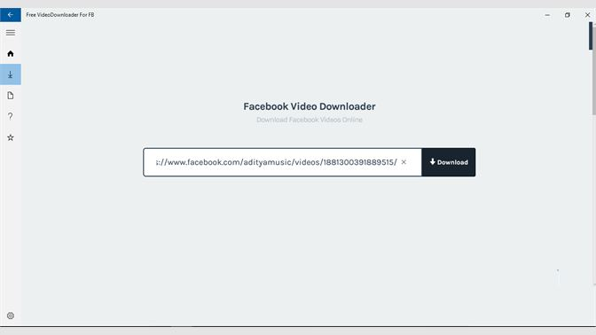 download videos from facebook messenger pc