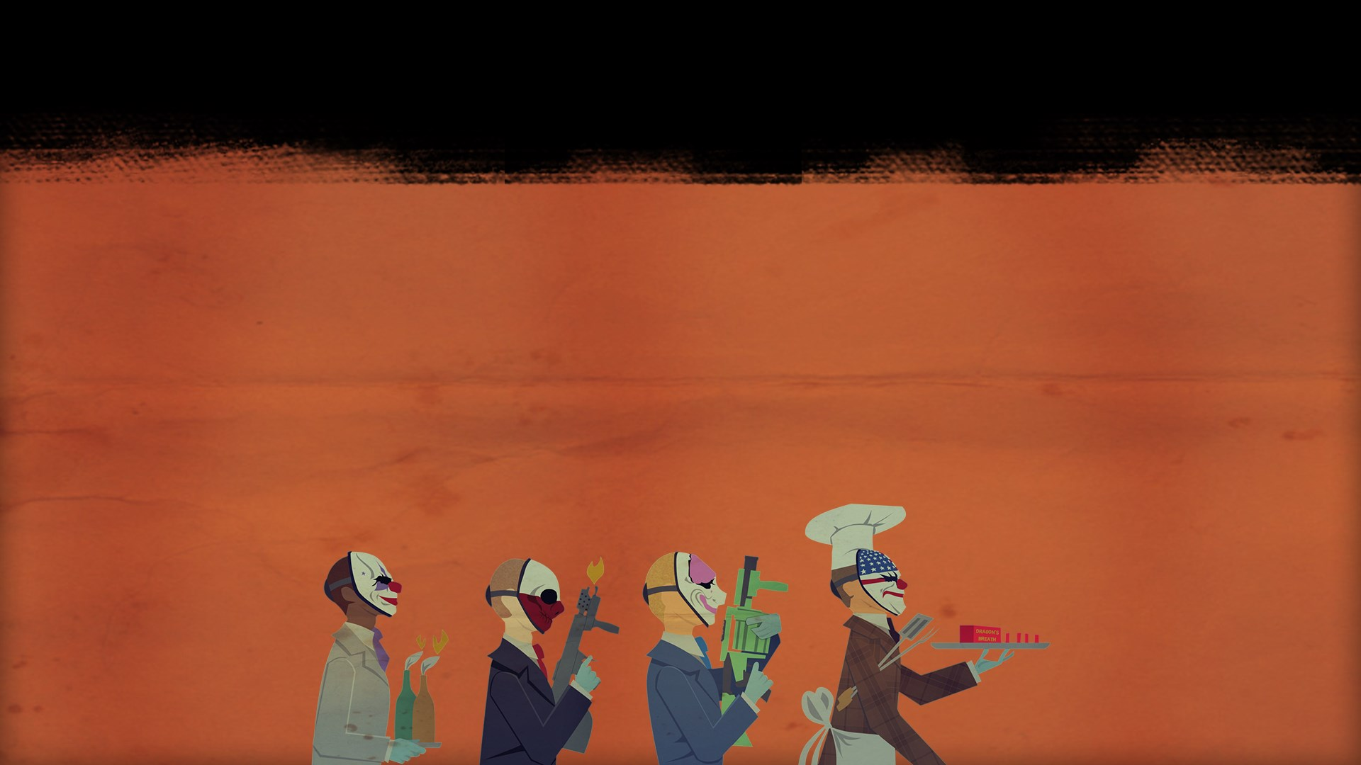 PAYDAY 2: CRIMEWAVE EDITION - Pack The Butcher's BBQ