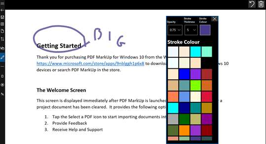PDF Markup screenshot 9