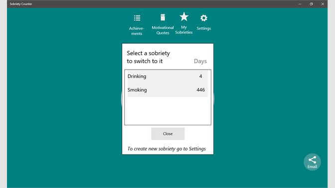 Get Sobriety Counter For Windows 10 Microsoft Store