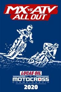 Carátula del juego 2020 AMA Pro Motocross Championship