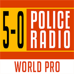 5-0 Radio Police Scanner World Pro Logo