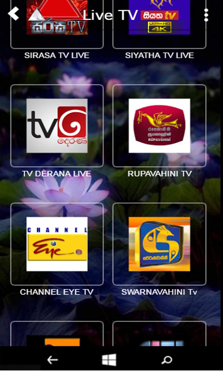 Sri Lanka News TV Radios Songs for Windows 10 Mobile