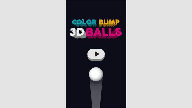 Get Color Bump 3D Balls - Microsoft Store