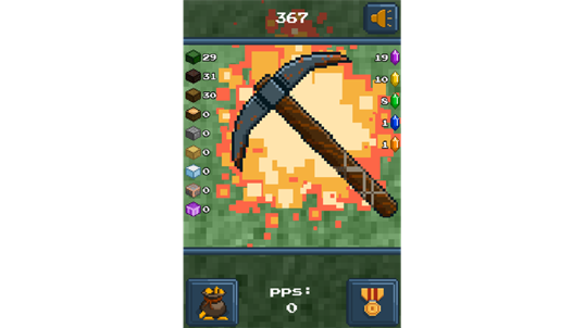 PickCrafter - Idle Craft Game screenshot 1