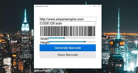 Ampare Barcode Creator Screenshots 1