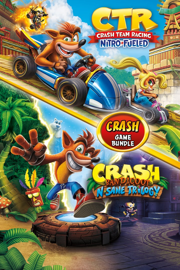 Buy Crash Bandicoot Bundle N Sane Trilogy Ctr Nitro Fueled Microsoft Store