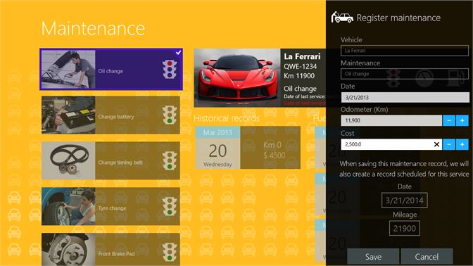 buy lya car maintenance tracker 2 0 microsoft store