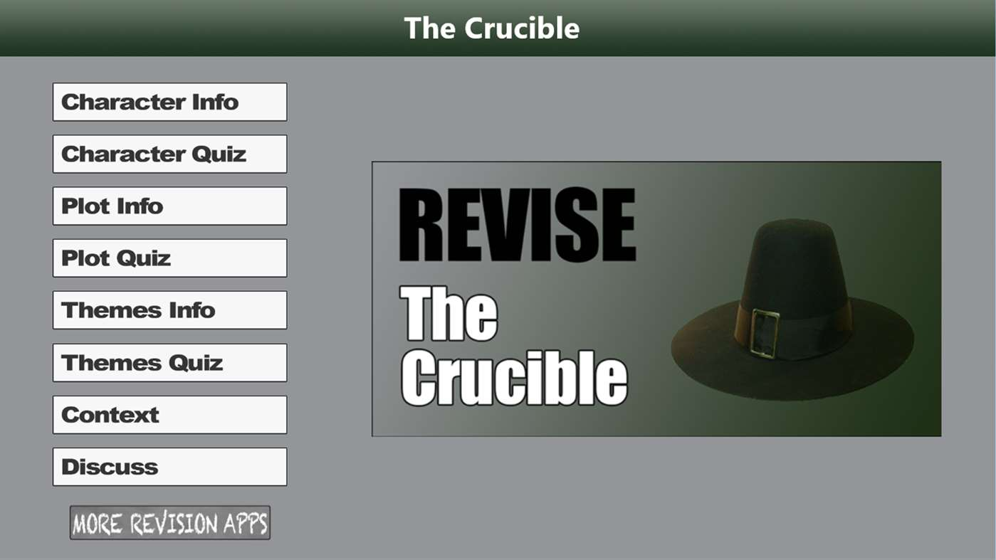 theme of the crucible The crucible's themes are very much present in today's society, and this allows miller's story to be placed into any time period and still be powerful.