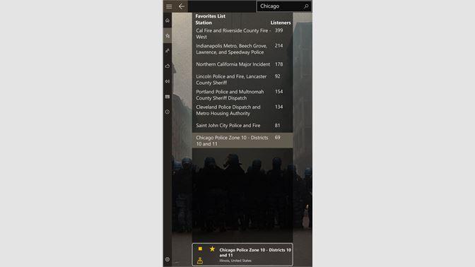 Buy Official Police Scanner Radio - Microsoft Store en-ZA
