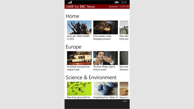 Get Universal Windows Reader for BBC News - Microsoft Store