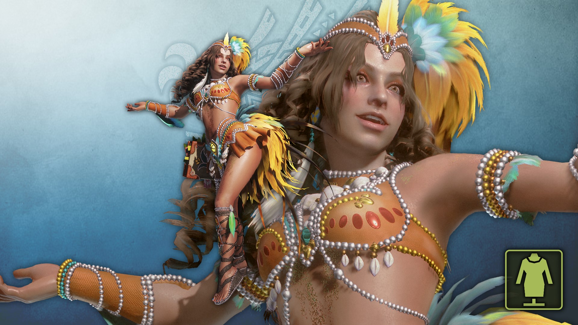 The Handler's Festive Samba Costume