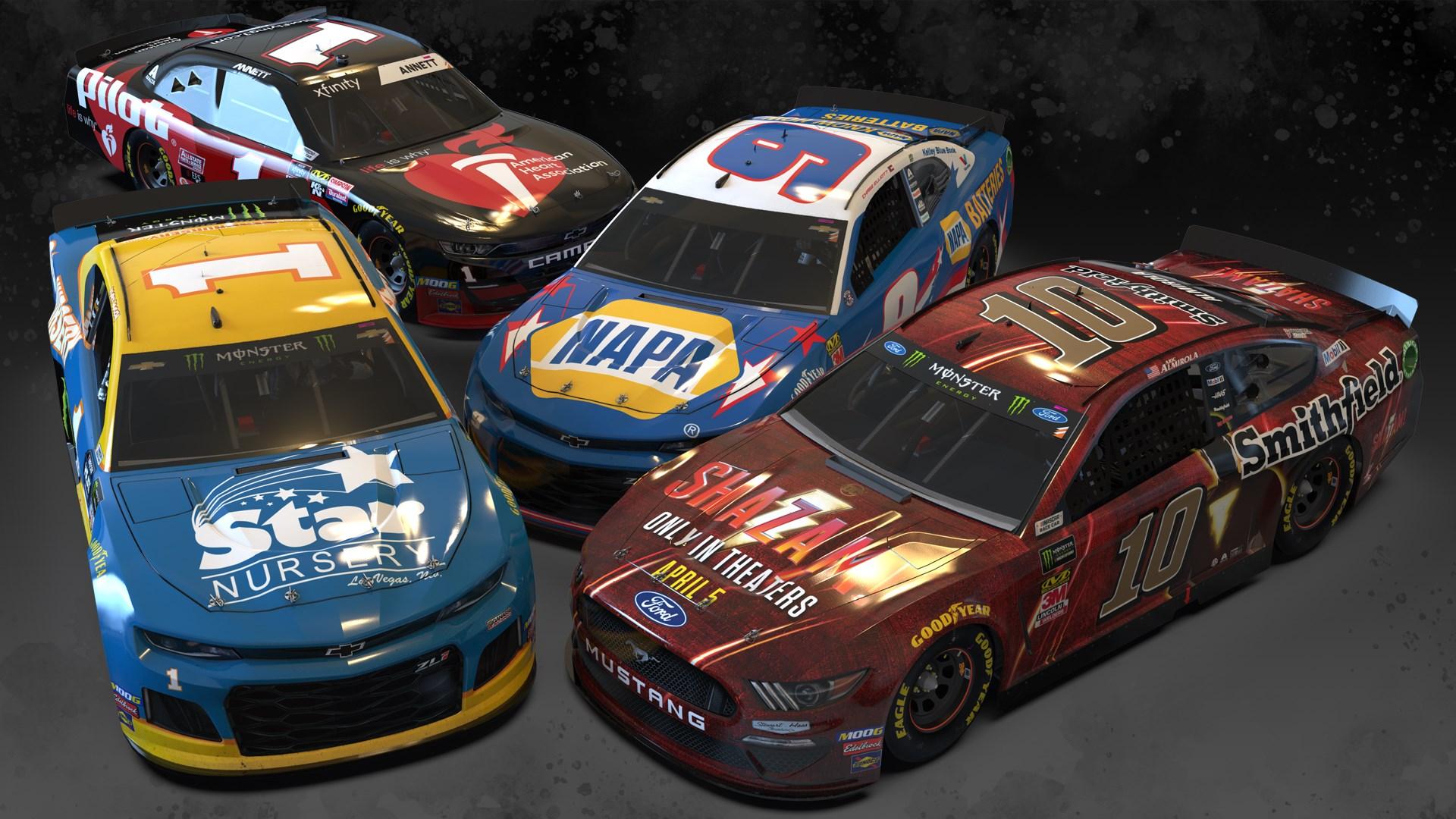 NASCAR Heat 4 - September Pack