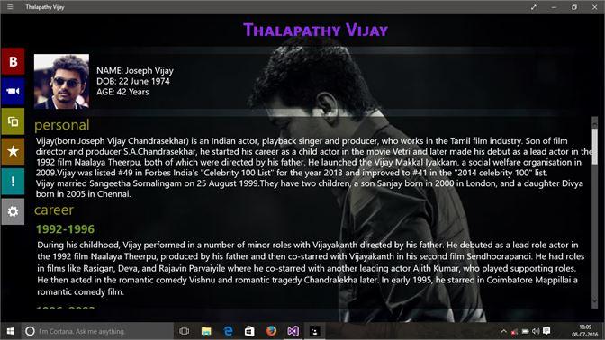 Get Thalapathy Vijay - Microsoft Store