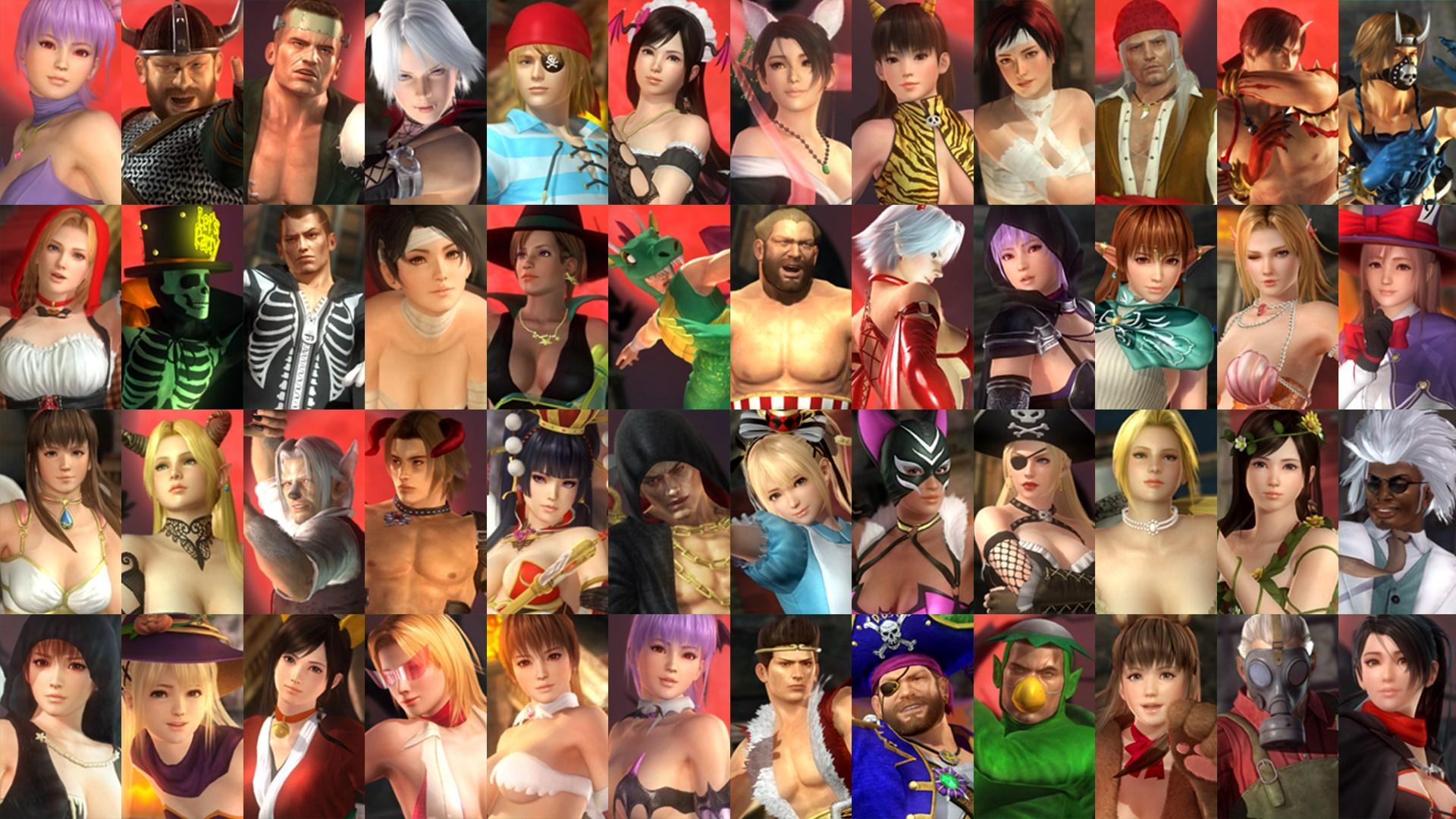 Conjunto Legado Halloween (2013-2015) e Personagens