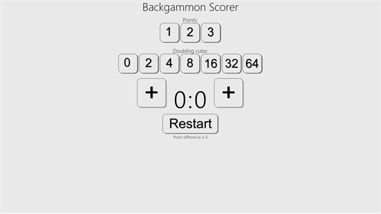 Backgammon Scorer screenshot 2