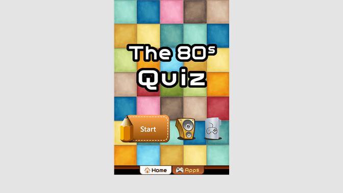 Get The 80s Quiz - Microsoft Store