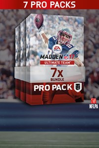 Madden NFL 17 7 Conjuntos Pro Pack