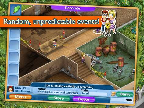 Get virtual families 2 my dream home microsoft store for Virtual families 2 decoration