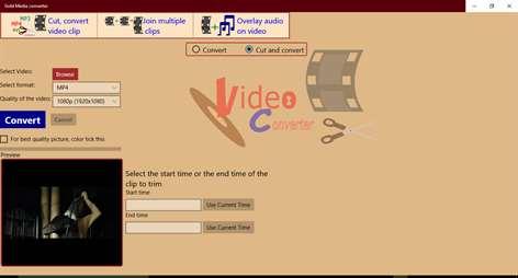 Gold Media converter Screenshots 1