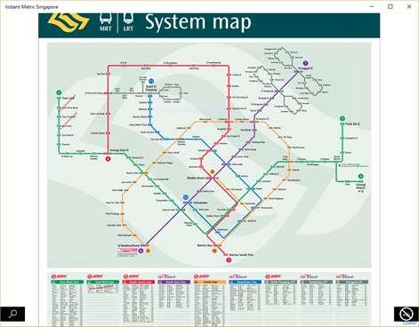 Instant Metro Singapore Screenshots 1