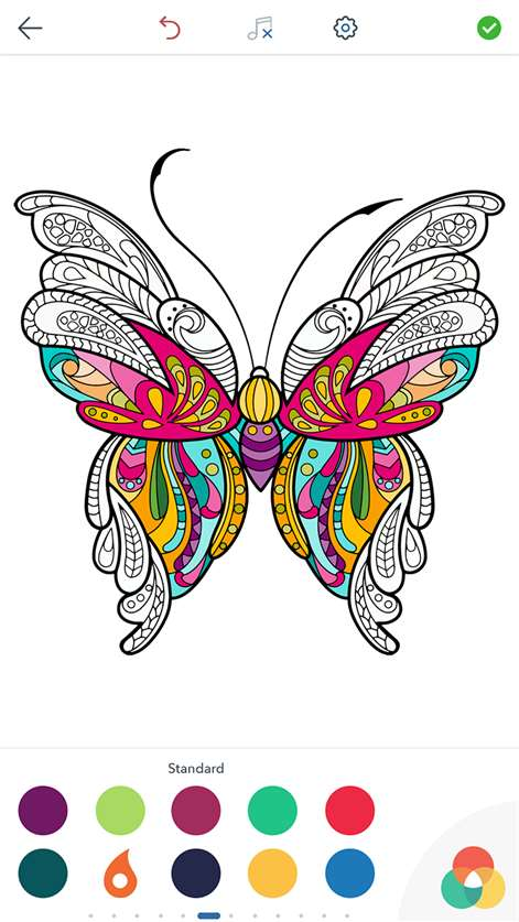 Get Butterfly Coloring Pages for Adults: Coloring Book - Microsoft Store