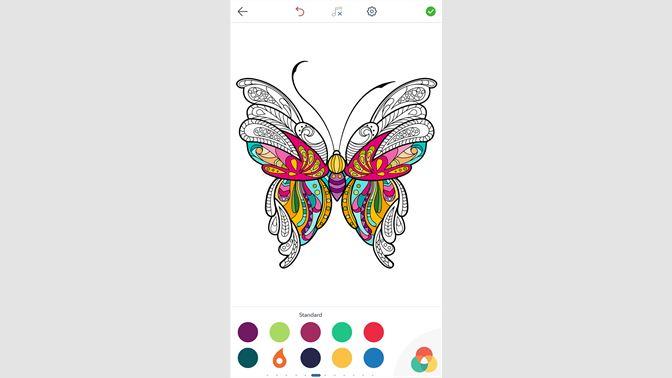 Kelebek Boyama Büyükler Için Boyama Kitabı Al Microsoft Store Tr Tr