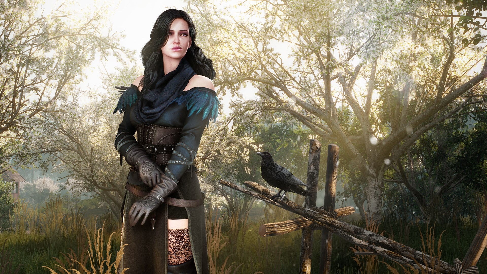 Aparência alternativa para a Yennefer