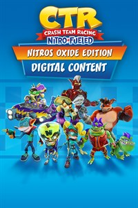 Carátula del juego Crash Team Racing Nitro-Fueled - Nitros Oxide Edition Content