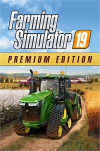 Carátula del juego Farming Simulator 19 - Premium Edition