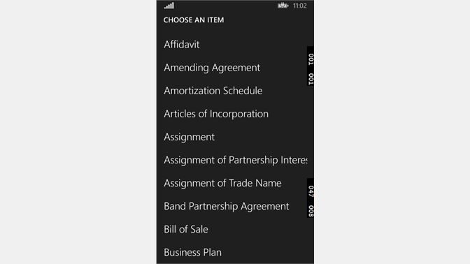 Get Legal Forms And Agreements Microsoft Store En Ca