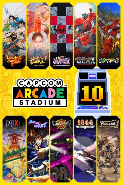 Capcom Arcade Stadium Pack 3: Arcade Evolution ('92 – '01)