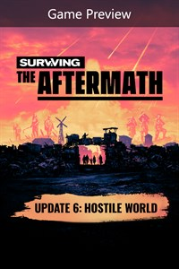 Carátula del juego Surviving the Aftermath: Founder's Edition (Game Preview)
