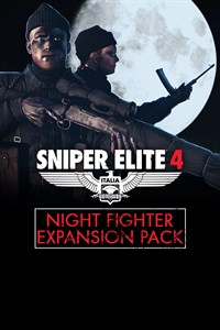 Carátula del juego Sniper Elite 4 - Night Fighter Expansion Pack