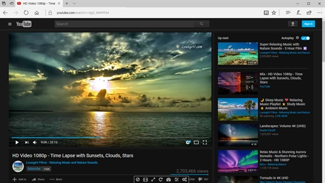 Enhancer for YouTube™ for Microsoft Edge™ Screenshot