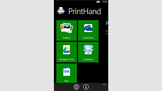 Buy PrintHand - Microsoft Store